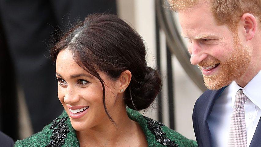 Herzogin Meghan und Prinz Harry im März 2019
