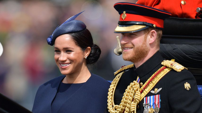 Herzogin Meghan und Prinz Harry im Juni 2019 in London