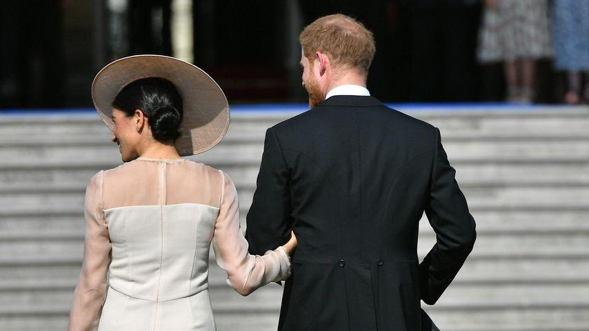 Herzogin Meghan und Prinz Harry auf der Gartenparty von Prinz Charles