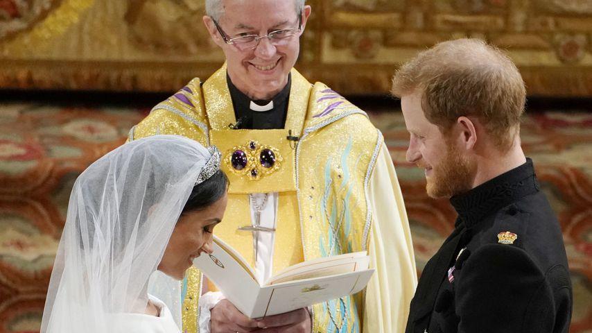 Er traute sie: Erzbischof Welby verteidigt Harry und Meghan