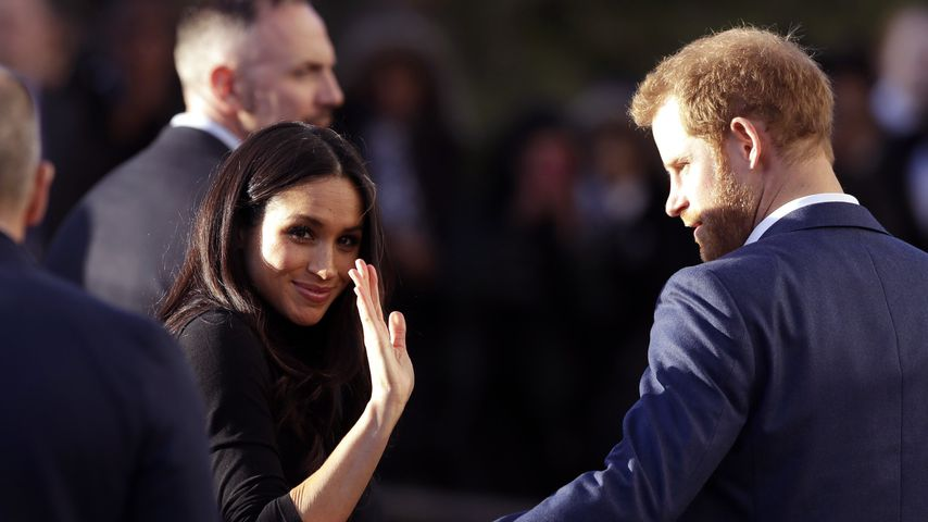 Herzogin Meghan und Prinz Harry, Dezember 2017