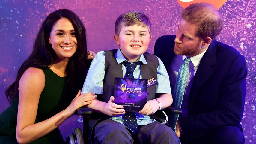 Herzogin Meghan und Prinz Harry beim Well Child Award in London, 2019