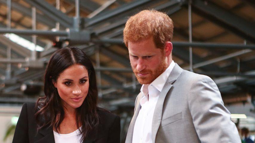 Herzogin Meghan und Prinz Harry im Juli 2018 in Dublin