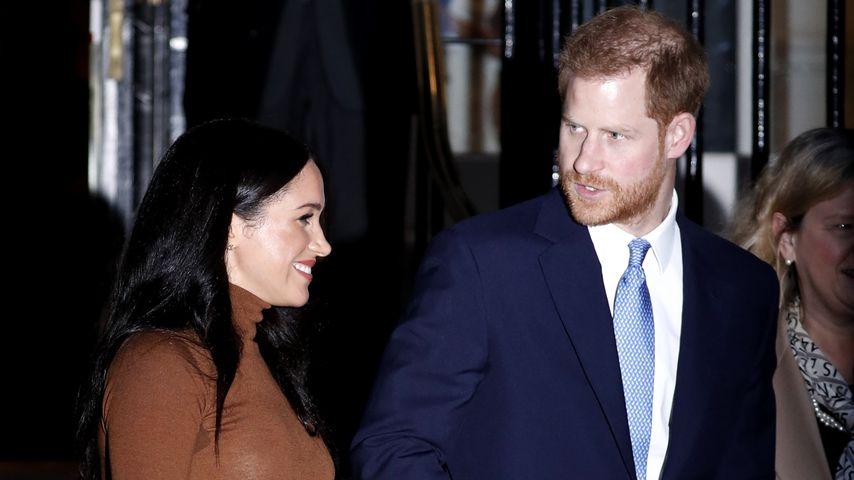 Herzogin Meghan und Prinz Harry in London, 2020