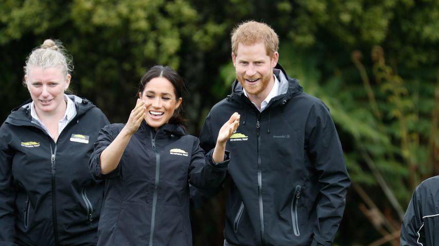 Herzogin Meghan und Prinz Harry am 30. Oktober in Auckland, Neuseeland