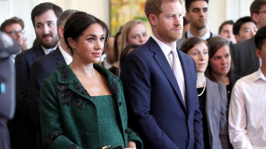 Herzogin Meghan und Prinz Harry am Commonwealth Day in London