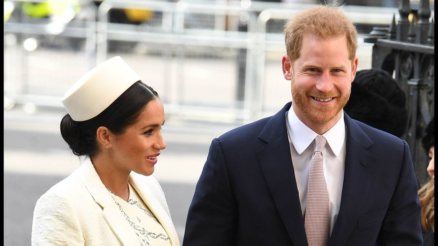 Herzogin Meghan und Prinz Harry in London