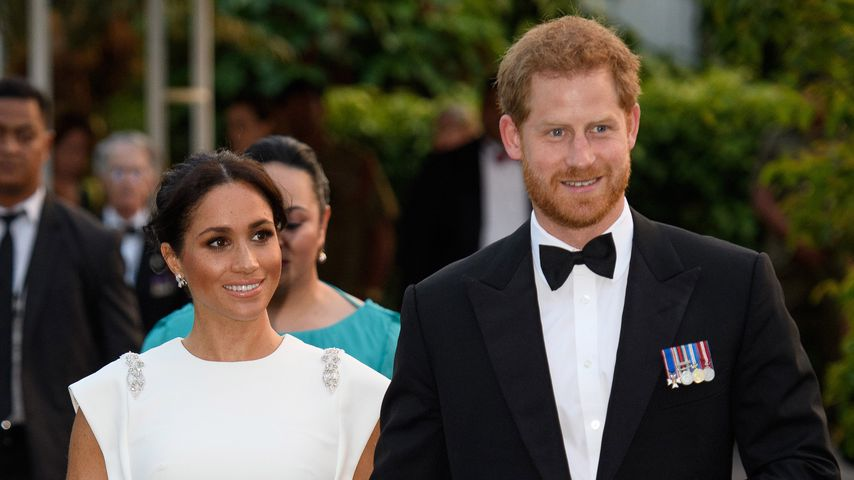 Herzogin Meghan und Prinz William in Tonga, Oktober 2018