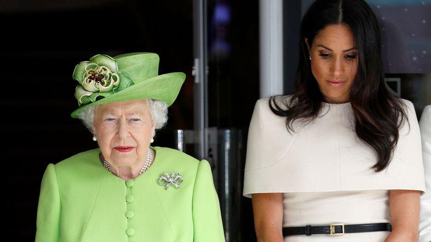 Royal-Rücktritt: Meghans Vater und die Queen sind enttäuscht