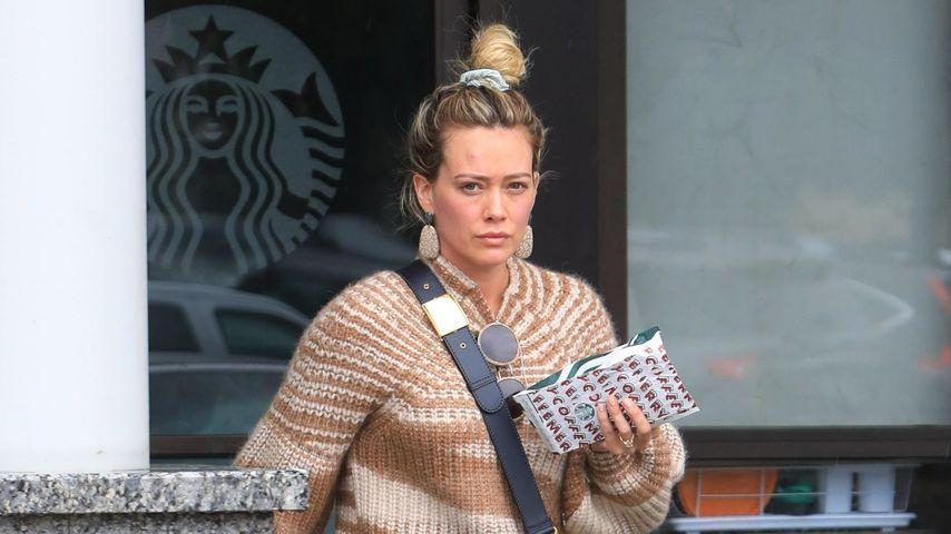 Ungeschminkt: Hilary Duff ganz lässig in West Hollywood