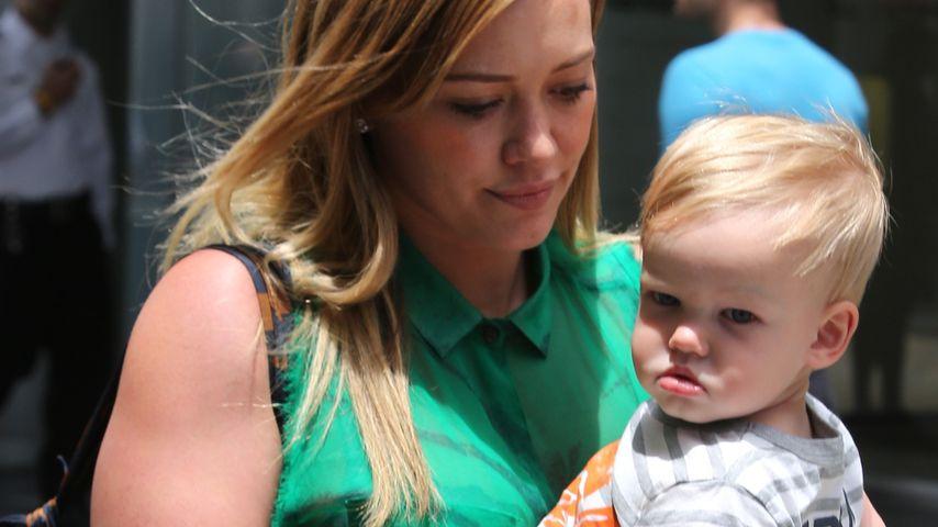 Wie süß! Hilary Duff und Luca (1) im Partnerlook