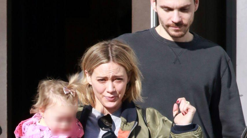 Hilary Duff und ihr Mann Matthew Koma mit Tochter Banks in Los Angeles