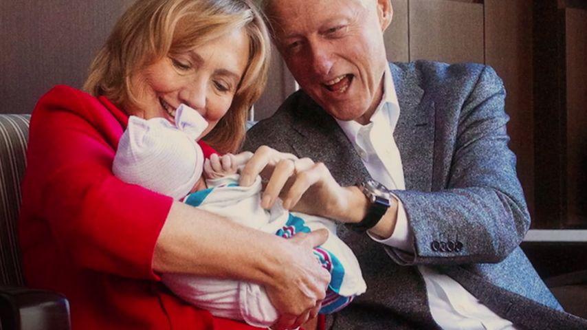 Hillary Clinton: Wahlkampf mit süßer Enkeltochter