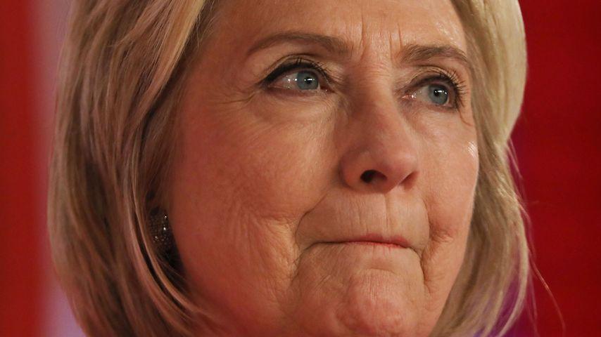Die amerikanische Politikerin Hillary Clinton