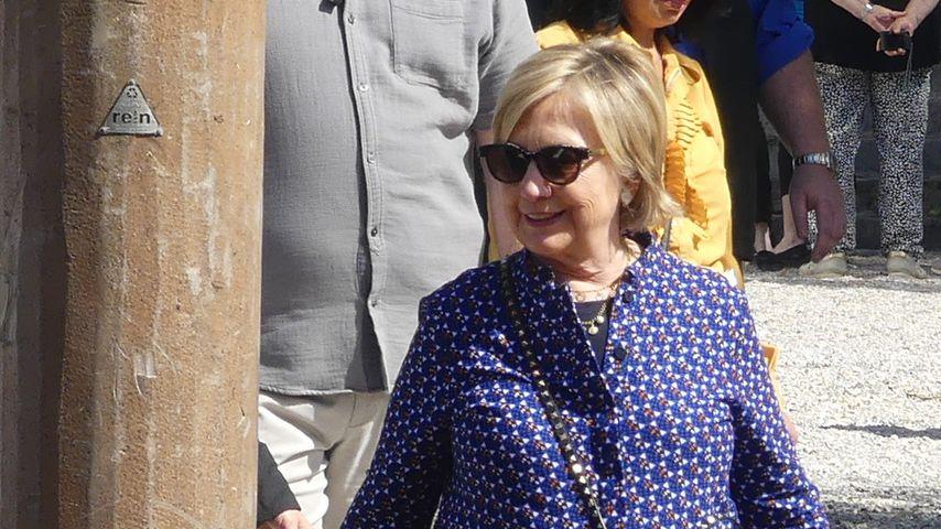 Prominente Touristin: Hier erkundet Hillary Clinton Venedig