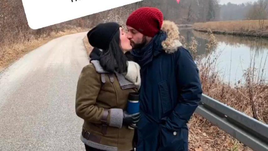 """""""Hochzeit auf den ersten Blick""""-Kandidatin Lisa und ihr Freund"""