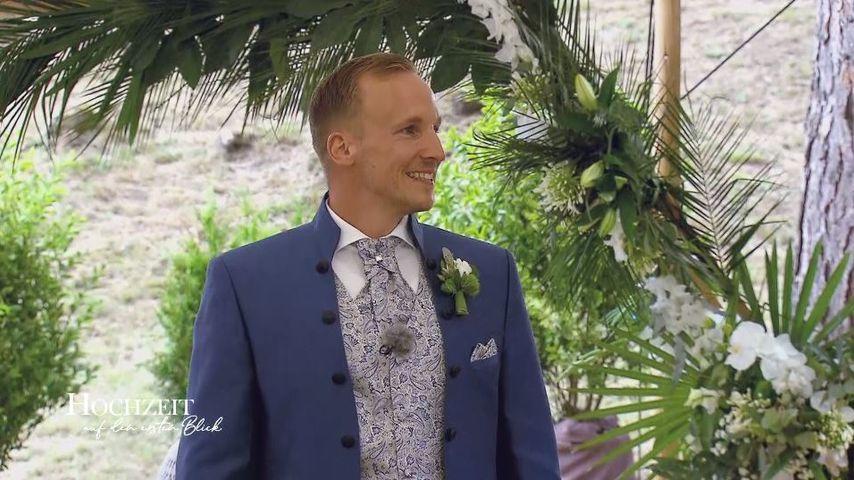 """""""Hochzeit auf den ersten Blick""""-Michael an seinem Hochzeitstag"""
