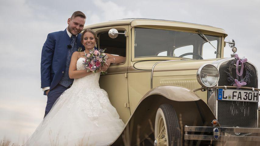 """""""Hochzeit auf den ersten Blick""""-Paar Marcel und Christina"""
