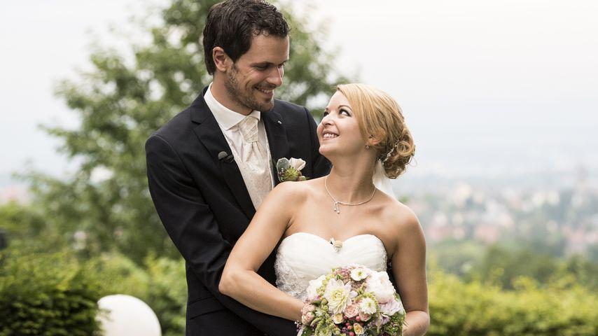 """""""Hochzeit auf den ersten Blick"""": Stephan und Ramona bei ihrer Hochzeit"""