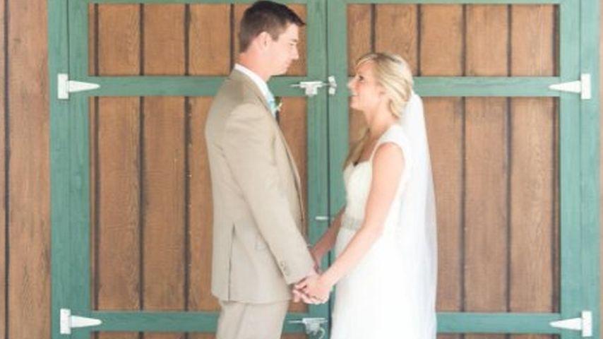 Hochzeitsfoto der Schauspielerin Heather Morris