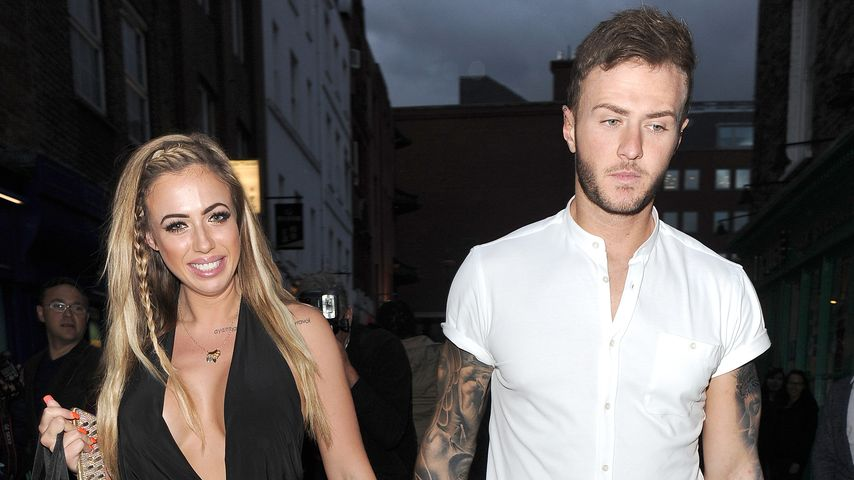 Holly Hagan und Kyle Christie
