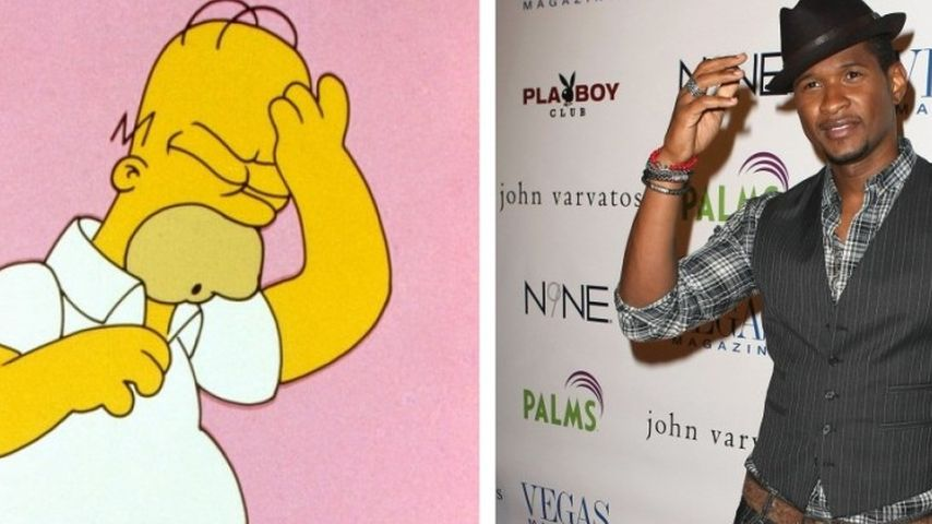 Video: Hat Usher etwa von Homer Simpson geklaut?