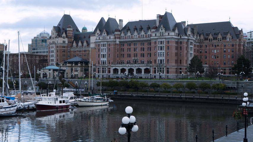 Hotel Fairmont Empress Hotel im kanadischen Victoria