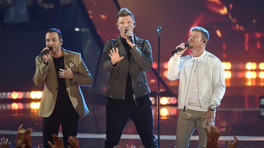 Howie, Nick und Brian von den Backstreet Boys