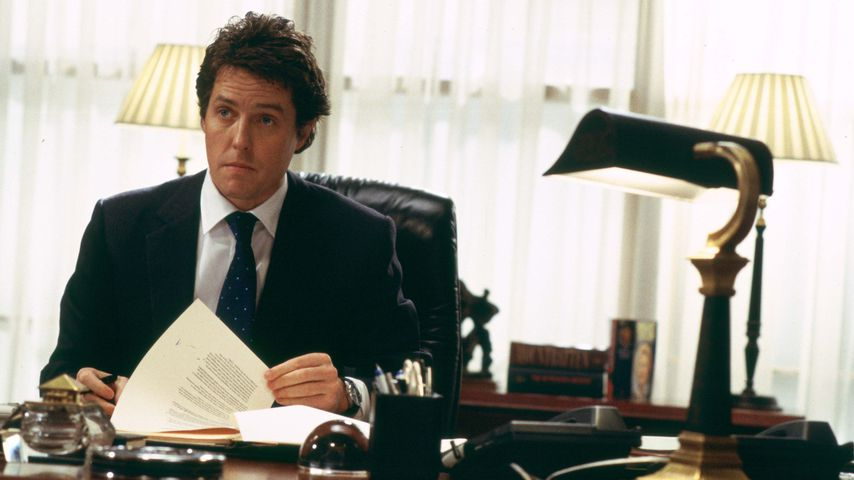 """Hugh Grant in """"Tatsächlich... Liebe"""" im Jahr 2003"""