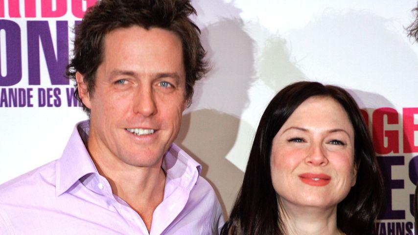 "Hugh Grant und Renée Zellweger bei der ""Bridget Jones""-Premiere 2004"