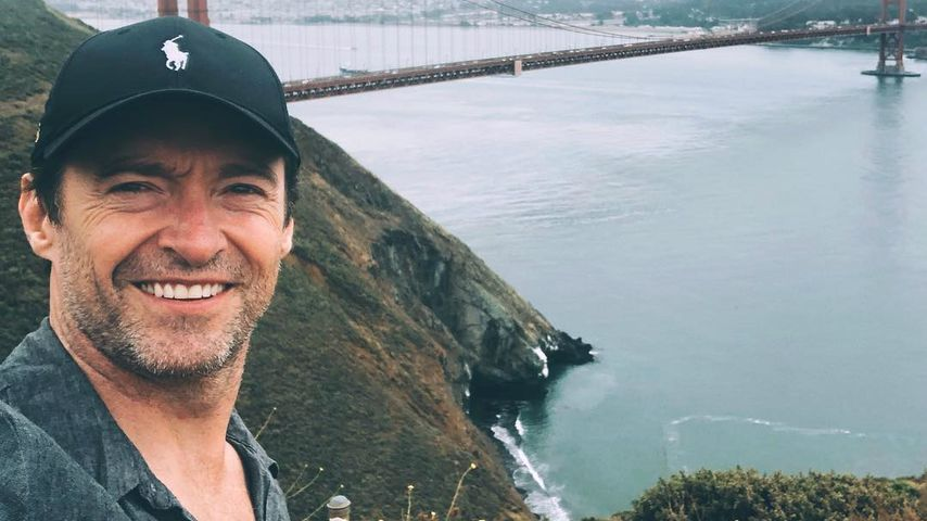 Hugh Jackman in San Francisco