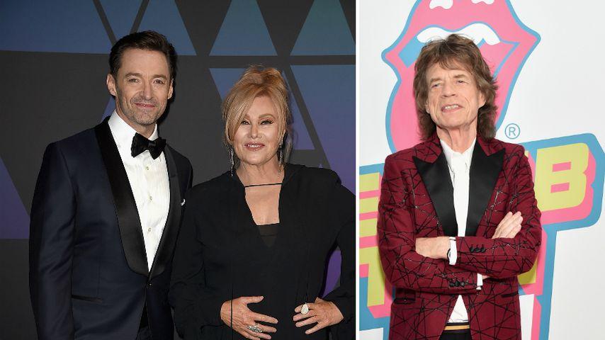 Für Hugh Jackman: Frau Deborra ließ Mick Jagger abblitzen!