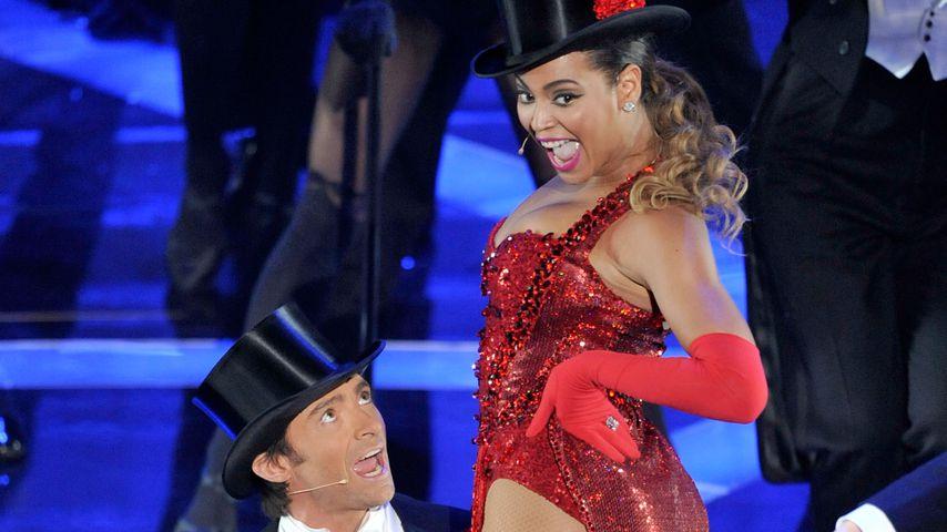 Hugh Jackman und Beyoncé Knowles bei der Oscar-Verleihung 2009