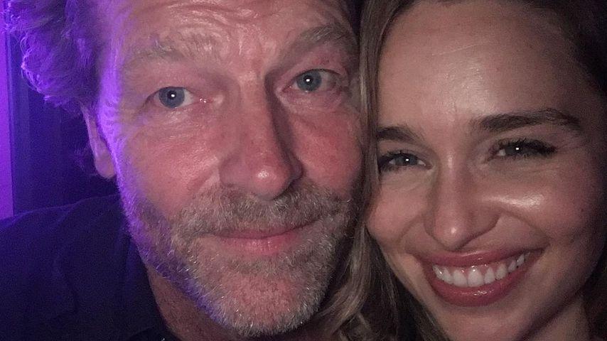 Iain Glen und Emilia Clarke, Schauspieler
