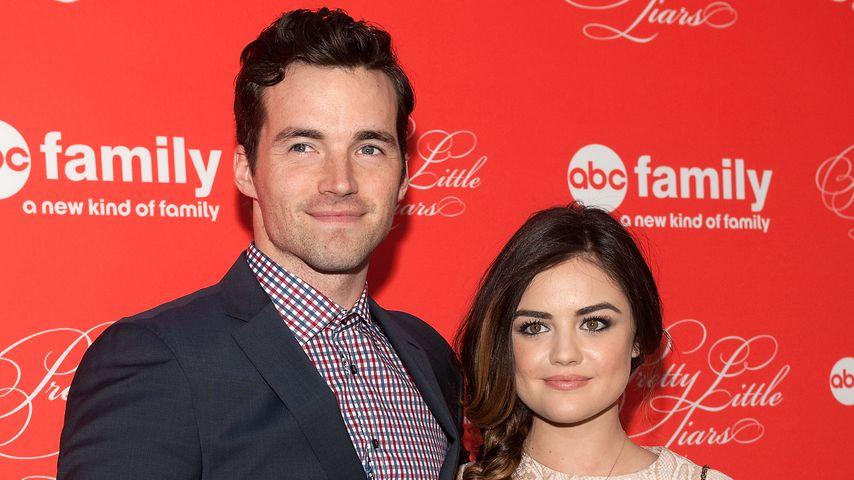 """Ian Harding und Lucy Hale beim Staffelfinale von """"Pretty Little Liars"""" 2014"""