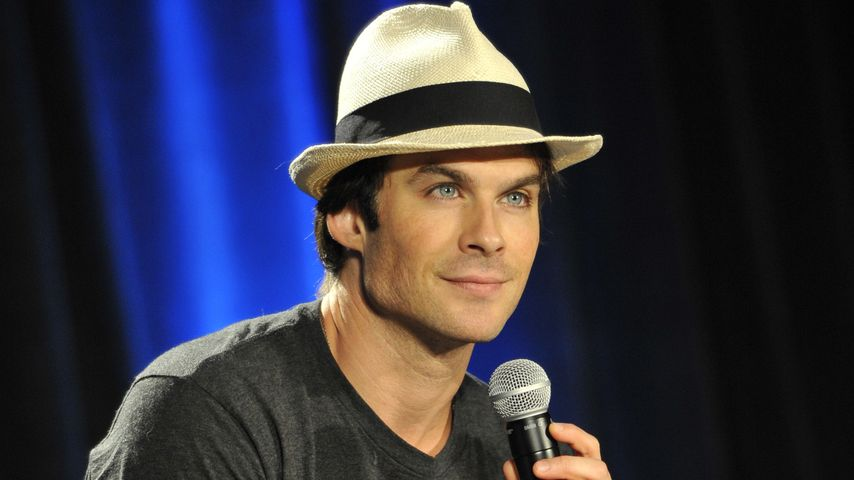 "Ian Somerhalder, ""Vampire Diaries""-Star"