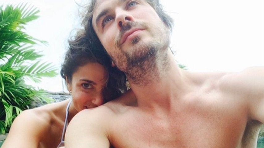 Ian Somerhalder: Halbnackte Liebeserklärung an seine Nikki
