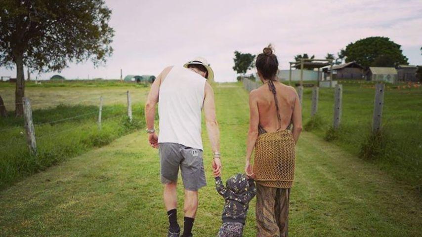Ian Somerhalder und Nikki Reed mit ihrer Tochter Bodhi
