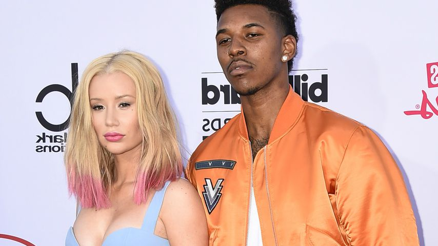 Rapperin Iggy Azalea und NBA-Star Nick Young 2015 in Las Vegas