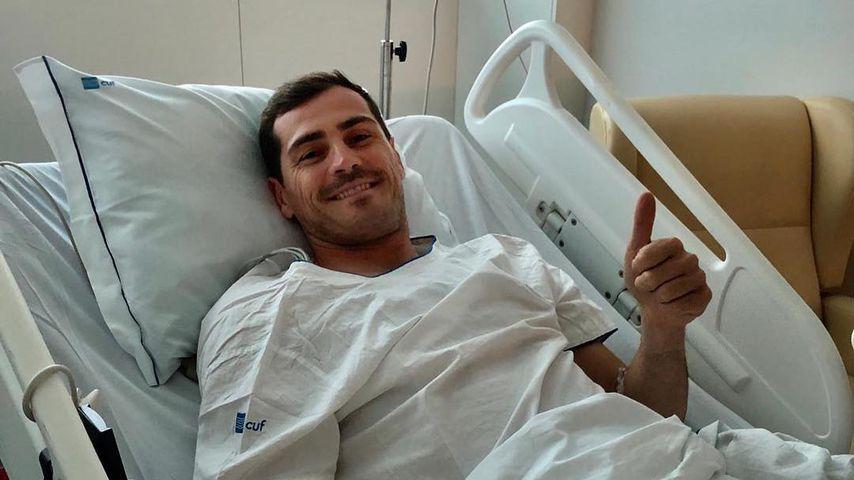 Iker Casillas aus dem Krankenbett