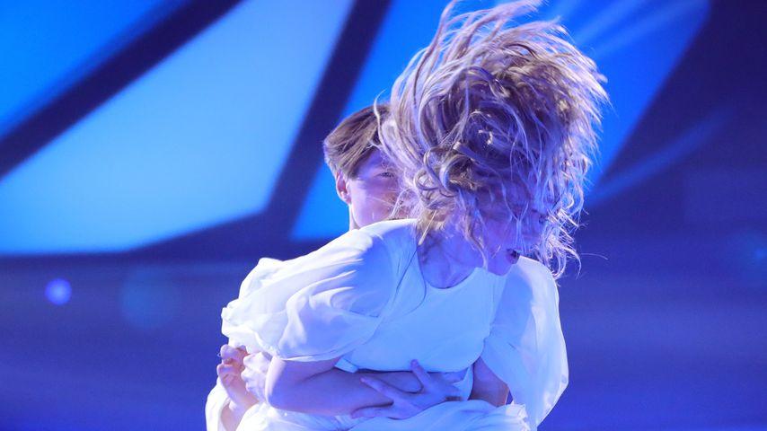 """Ilse DeLange und Evgeny Vinokurov in der achten Show von """"Let's Dance"""""""