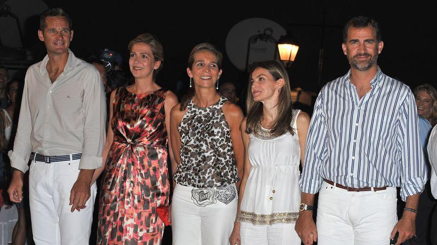 Prinzessin Letizia, Prinz Felipe von Spanien und Cristina von Spanien
