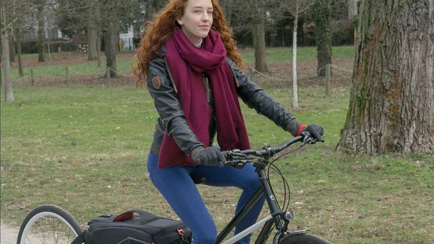 Influencerin Gingery Ksu mit einem Convercycle