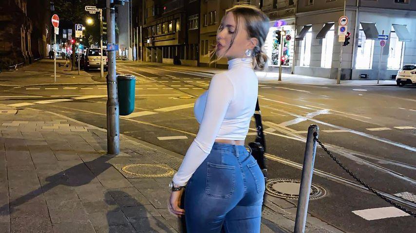 Influencerin Laura Maria im September 2020