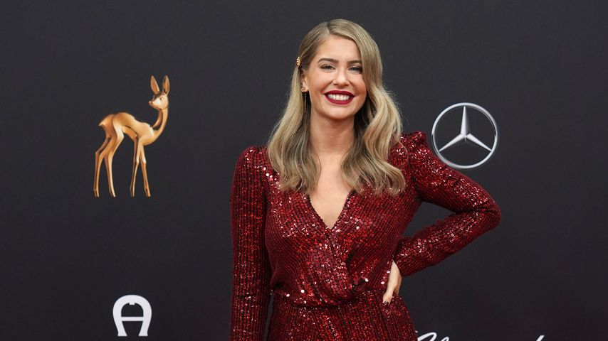 Influencerin Mrs. Bella bei den Bambi Awards, 2019