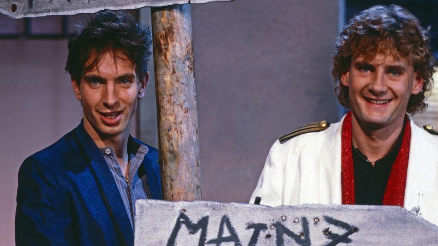 Ingolf Lück und Peter Illmann im Jahr 1984