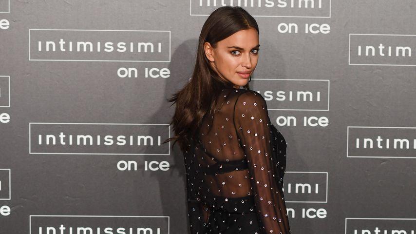 """Irina Shayk bei der """"Intimissimi On Ice""""-Fashionshow in Verona, Italien"""