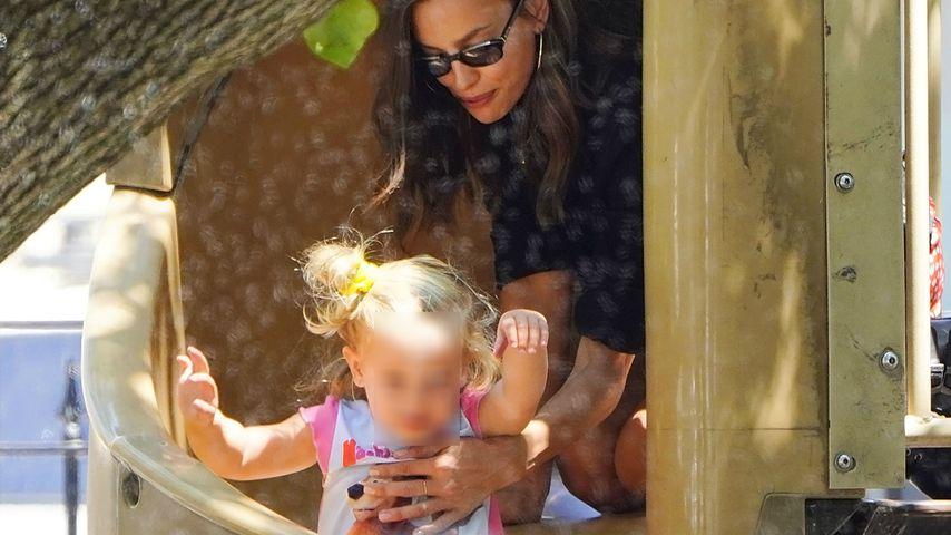 Irina Shayk mit Tochter Lea
