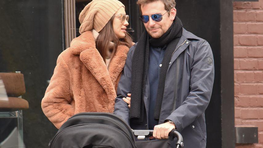 Irina Shayk und Bradley Cooper bei ihrem Spaziergang durch New York