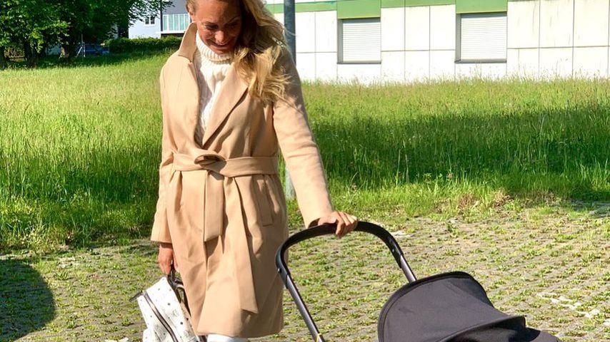 Iris Aschenbrenner mit ihrem Sohn